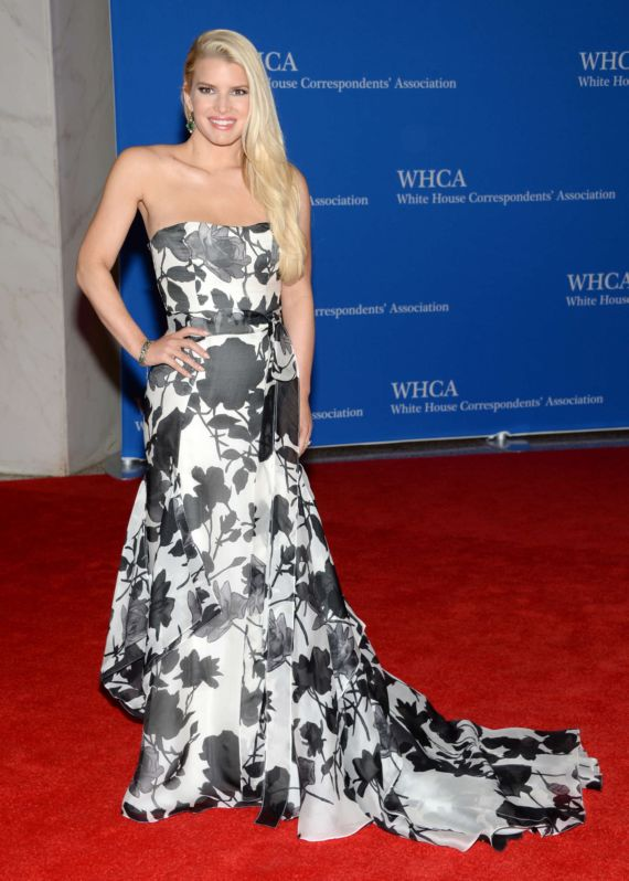 Jessica Simpson At 100th Annual White House Correspondents Dinner