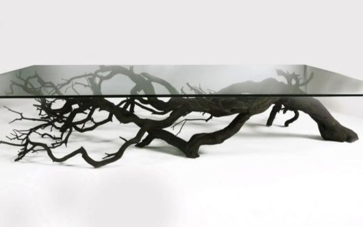 Fallen Branches Turned Into Beautiful Furniture