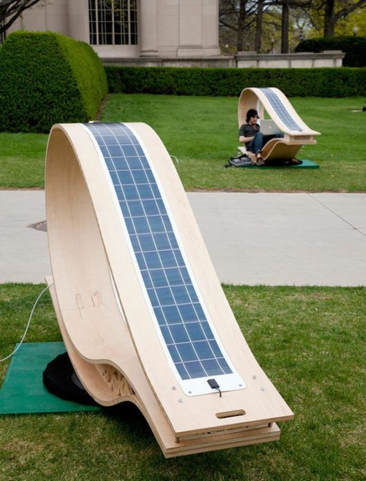 Amazing New Solar Powered Chair