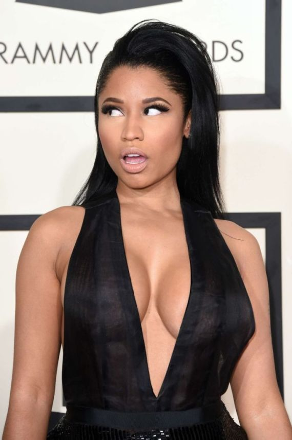 Nicki Minaj Attends 2015 GRAMMY Awards