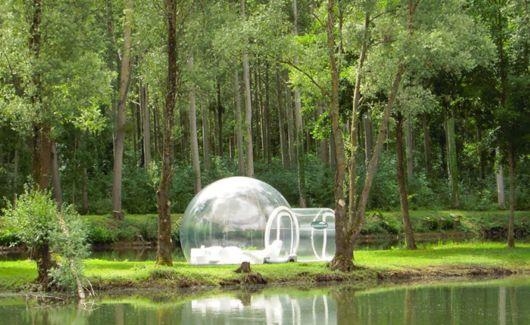 Amazing Transparent Bubble Tent