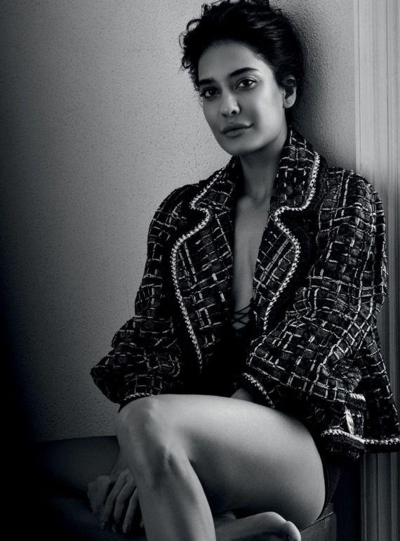 Lisa Haydon Shoots For Harpers Bazaar June 2016