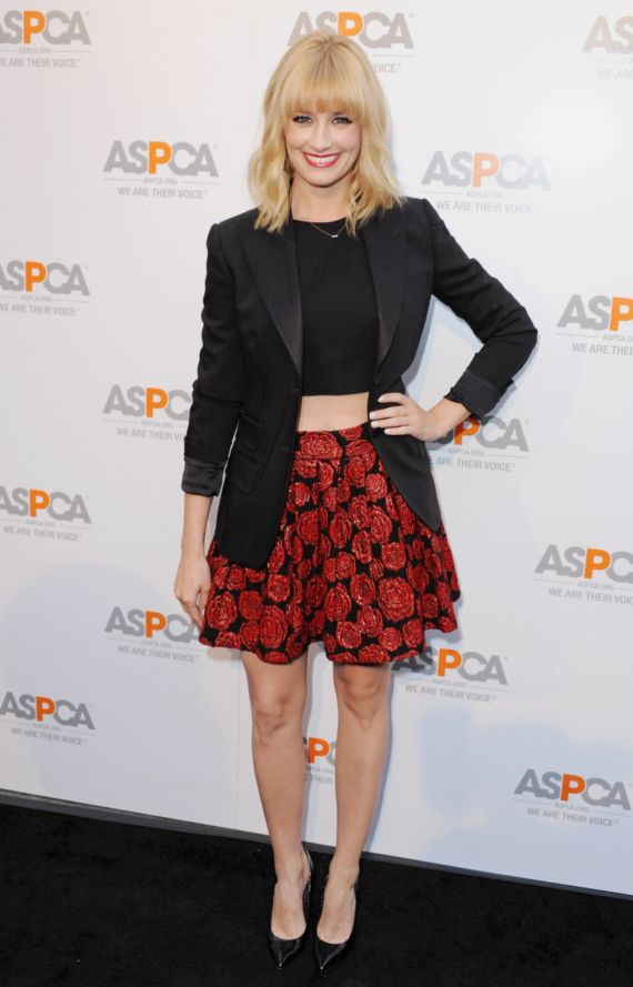 Beth Behrs For ASPCA 2014 Celebration