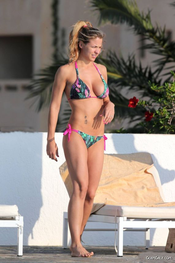 Gemma Atkinson On A Vacation In Spain