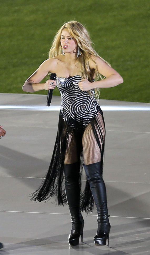 Shakira Filming T-Mobile Advertisement