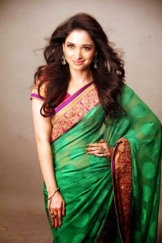 Tamannah Bhatia Saree Photoshoot