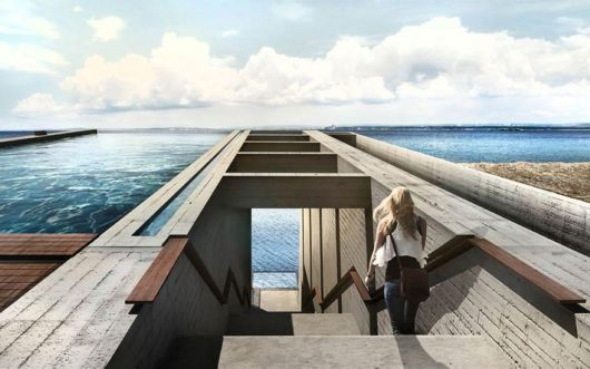 House Hidden In A Cliff With Terrifying Views Of Sea