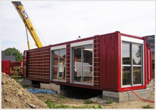 Amazing Old Containers Used To Build Houses