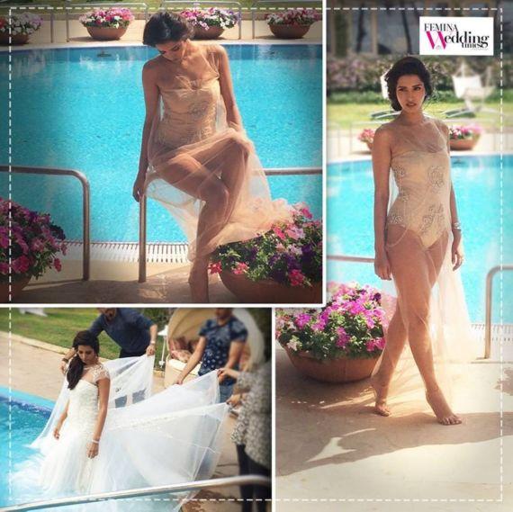 Manasvi Mamgai Photoshoot for Femina Wedding Times Magazine