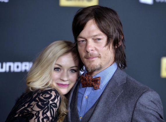 Emily Kinney At Walking Dead 4th Season Premiere