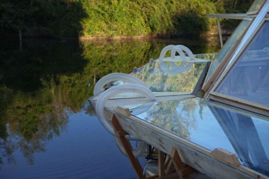 Amazing Floating Greenhouse Powered By Natural Energy