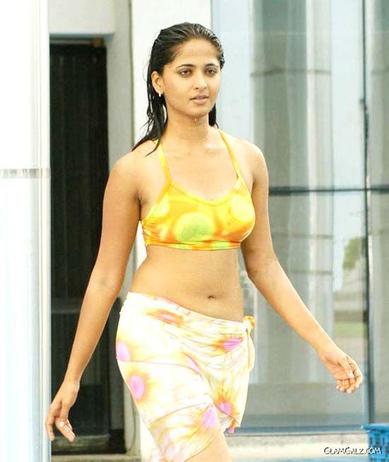 Actress Anushka Shetty Swimsuit Gallery