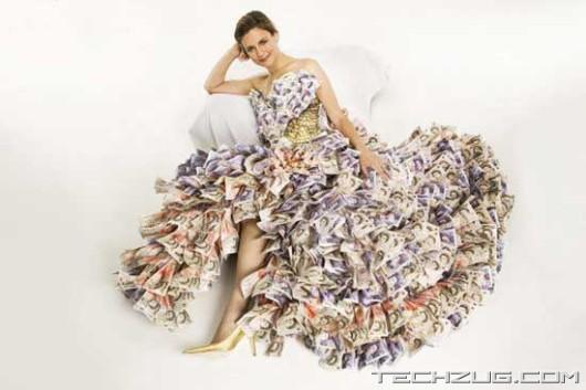 Amazing Million Dollar Dress