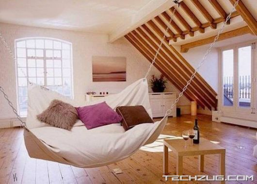 Cool Places to Sleep and Relax