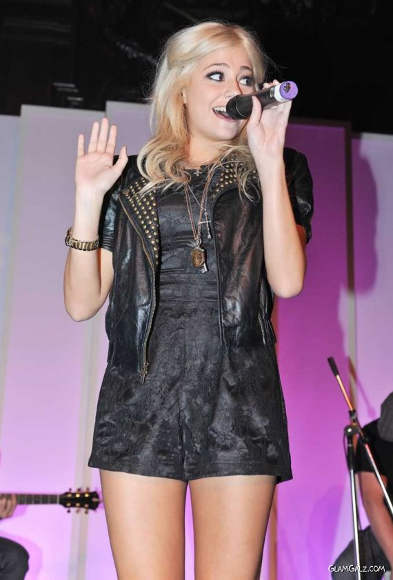 Pixie Lott Performing At The FM 10th Birthday Party