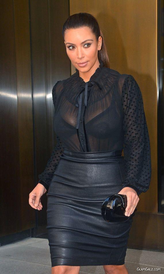 gossipsMiss Kardashian Walking In Black