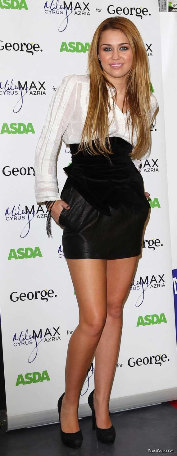Miley Cyrus Looks Really Good
