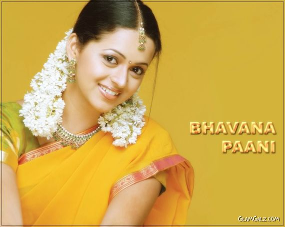 Click to Enlarge - Desi Beauty Bhavana Pani Wallpapers