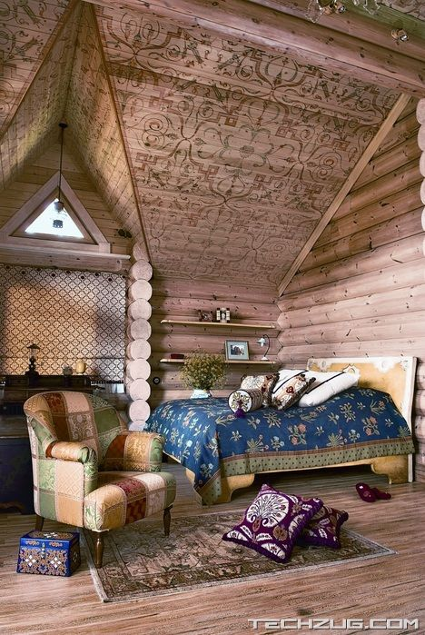 Beautiful Siberian Tale Country House
