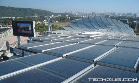 Worlds First Solar Powered Stadium