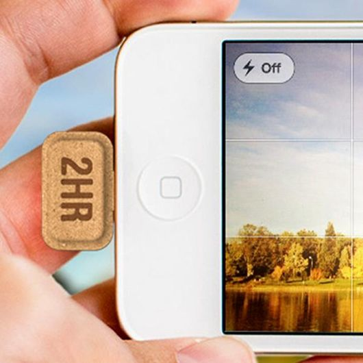 Biodegradable Cardboard Portable Power Charger