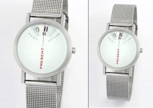 Past Present Future Watch Design'