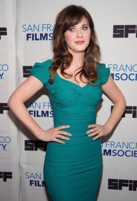 Zooey Deschanel At International Film Festival Awards