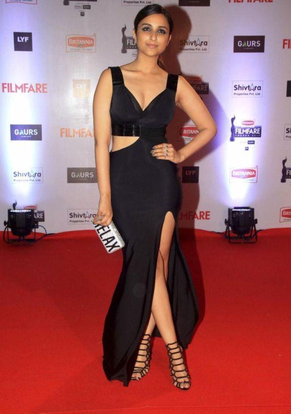 Parineeti Chopra at Britannia Filmfare Awards 2016