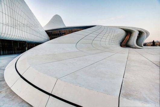 The Heydar Aliyev Center In Baku, Azerbaijan