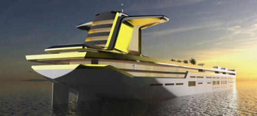 This Giga-Yacht Takes Luxury To An Oil Tanker Size