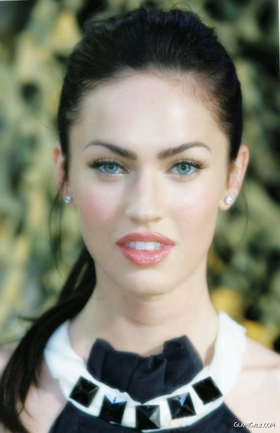Lovely Megan Fox In Black