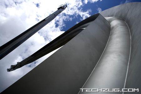 Audi Centenary Sculpture by Gerry Judah