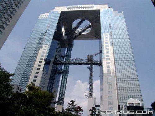 Worlds Highest 'Open Air' Escalator
