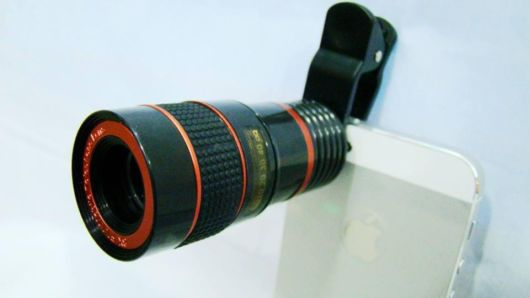 Universal 8X Optical Zoom Lens For Your Smartphone