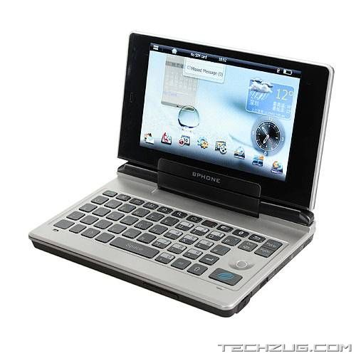BPhone Hybrid Netbook and Smartphone