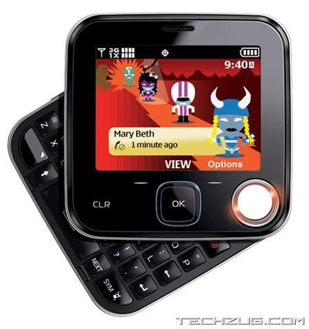 New Nokia 7705 Twist Phone
