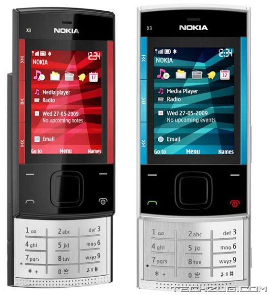 New Releases from Nokia: X3 and X6