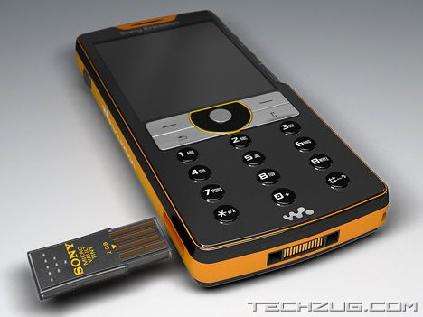 Sony Ericsson USB Port Phone