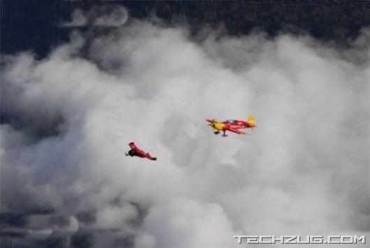 Human Flying Jet Machine