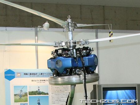 World?s Smallest Co-axial Helipcopter
