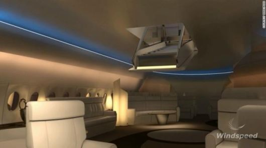 Amazing Luxury Stairway To Heaven On Top Of Aircraft With SkyDeck