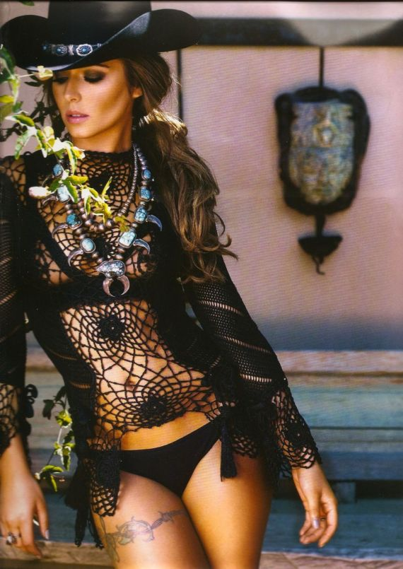 Click to Enlarge - Cheryl Cole For Official Calendar 2014