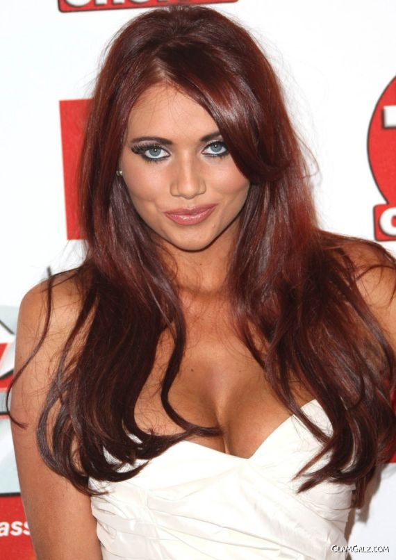 Gorgeous Amy Childs At TV Choice Event