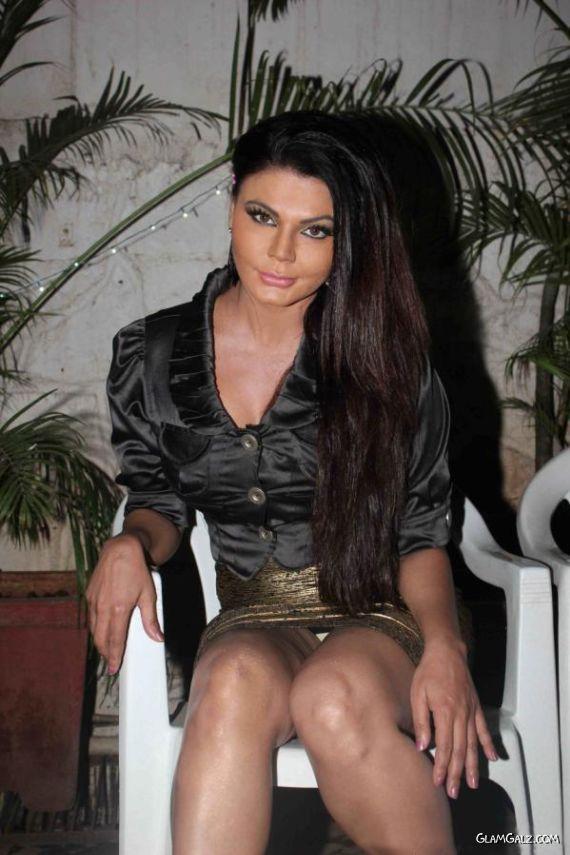 Rakhi Sawant At A Music Album Launch
