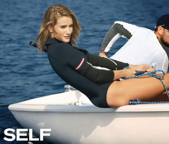 Rosie Huntington-Whiteley Is Marvelous On Self Magazine