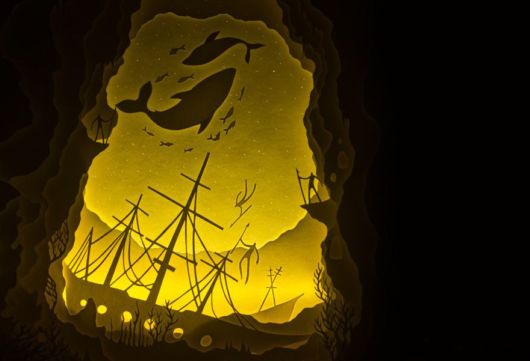 Fairytales Come To Life In Papercut Light Boxes