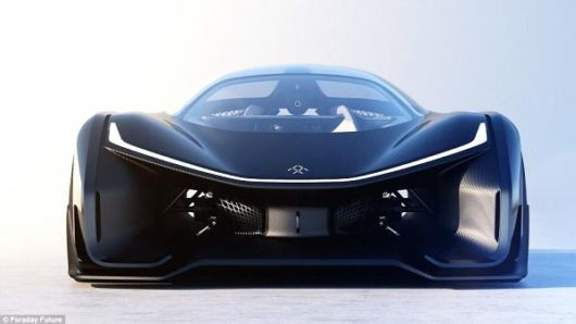Stunning Faraday Future FFZERO1 Car Accelerates 96 Kmph In 3 Seconds