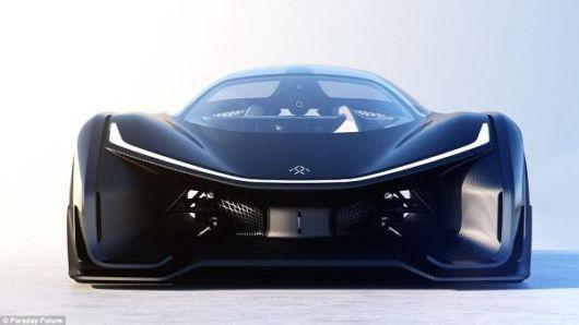 Stunning Faraday Future FFZERO1 Car Accelerates 96 Kmph In 3 Seconds