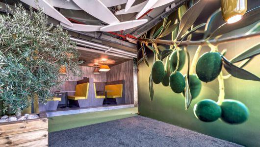 Google's Eclectic Tel Aviv Office Space