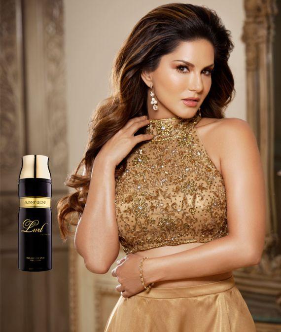 Sunny's Ad Shoot For Her New Perfume Range